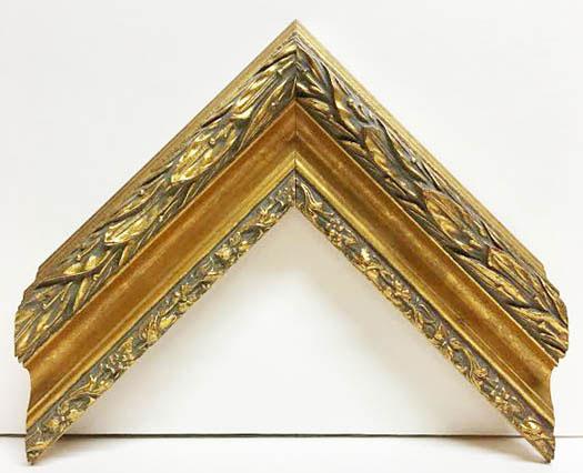 Moulding 6144 Gold ornate. Width 2.50