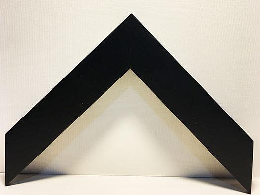 Moulding 10431  Contemporary Black. Width 1.25