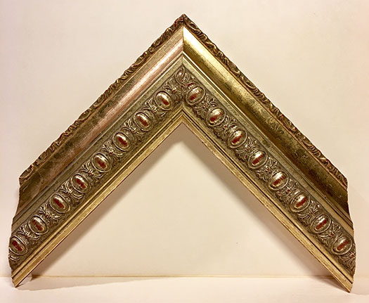 Moulding  8156 Traditional Silver. Width 2.00